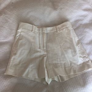 GAP white cotton shorts, professional and thick